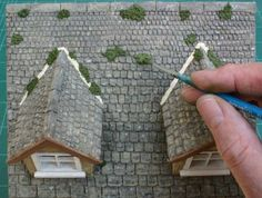 Stone roof tutorial