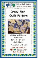 2014 : Crazy Man Quilt BOM from The Quilt Ladies