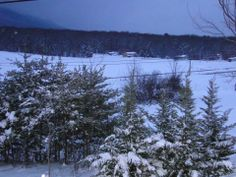 SANDY GRANDI  Snowy evening in Penn Laird , RT 33 view, so peaceful. #WHSVsnow