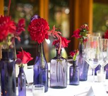 Wedding Colours: Purple and Red