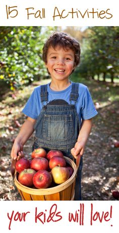 15 Fall Activities Your Kids Will Love