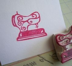 sewing machine stamp