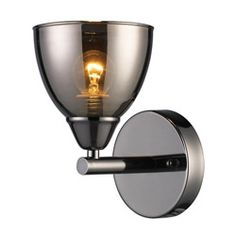 Black Chrome 1-light Wall Sconce  Today $49.99