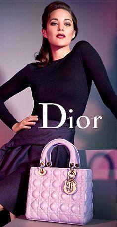 Lady Dior bag by Christian Dior.
