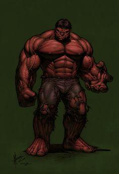 The Red Hulk