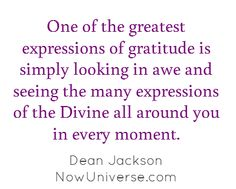 expressions of gratitude