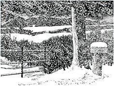 Ian Stephens, wood engraving