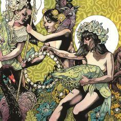 Band: Baroness   Record: Yellow & Green  Artist: John Dyer Baizley