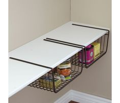 Should do something like this in the pantry to maximize storage space!