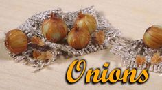 Miniature Onion - Polymer Clay Tutorial