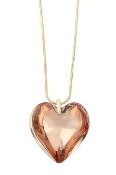 oasis heart necklace