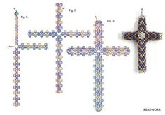 Cross Bead diagram mosaik