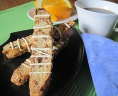 Spring Biscotti - inspired by the colors of Spring with Dried Apricots, Cranberries, and Almonds
