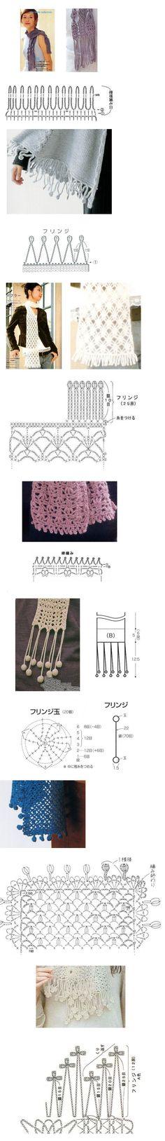 fun crochet borders!
