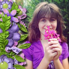 kit used:  Lisa Rosa Designs' FB freebie, Bright and Beautiful available at https://www.facebook.com/lisarosadesigns