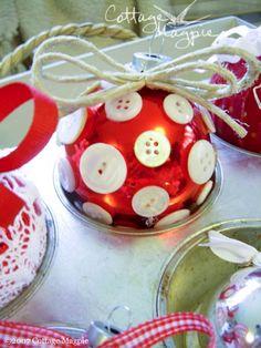 cute little ornament ideas!