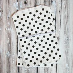 The TomKat Studio Polka Dot Favor Bags