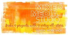 Mixed Media Studio | Big Picture Classes