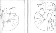 Pattern for a post-SCA period frock coat (inspired by Jack Sparrow).