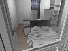 Suite parentale on pinterest room dividers loft and mezzanine - Taille moyenne salle de bain ...