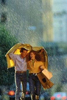 happy couples, couples in the rain, raini, fall, happiness, couples rain, raindrop, laughter in the rain, rain couple