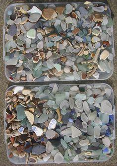 beach glass love ~
