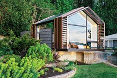 garasje ble hytte / Garage made cabin