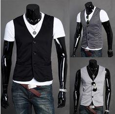 Men's Casual Slim Fitting Vest