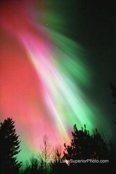 Northern lights, Duluth MN 2011