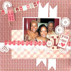 You + Me = Love  **Sketch Savvy** - Scrapbook.com