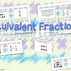 Visual Matching Fraction Task Cards! A fun way to teach students about fractions!  A great math center activity!  Aligned with 4th grade CCMS: MMC4...