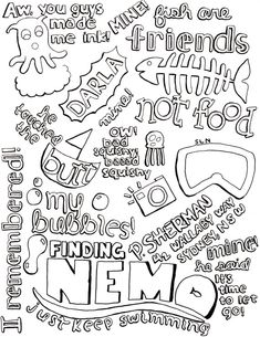 Finding Nemo this is too cute