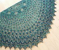 Ravelry: Monica's Shawl pattern by Meeli Vent
