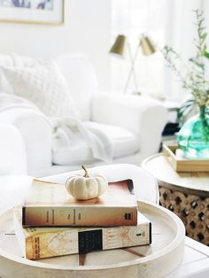 Fall home tour: simp