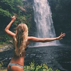 Waterfall bikini. Xo, LisaPriceInc.