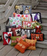 Touch of Whimsey Set of 12 Pillow Patterns from Abbey Lane Quilts at KayeWood.com. We are definitely having a PILLOW PARTY.   We put 12 different pillow patterns into one book. http://www.kayewood.com/item/Touch_Of_Whimsey_Set_of_12_Pillow_Patterns/2895 $20.00