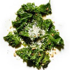 Braised Kale   MyRecipes.com #MyPlate #vegetable
