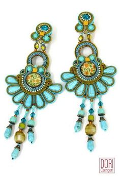 Amazing Soutache Jewelry by Dori Csengri - The Beading Gem's Journal