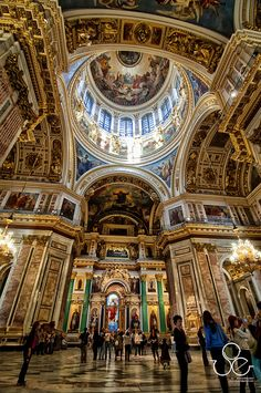 Saint Isaac's Cathedral in St. Petersburg, Russia