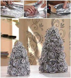 albero in aluminio