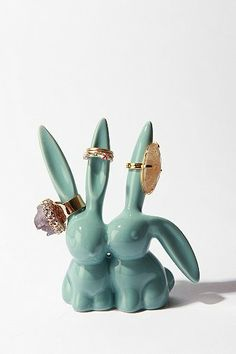 Urban Outfiters Love Bunnies Ring Holder