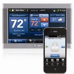 Control your home's energy use, locks, lights, cameras, blinds and more! All from your phone!