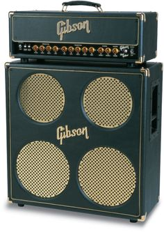 Gibson Super Goldtone amp and amp head
