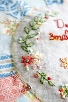 DreamPatch: lovely stitching!