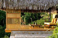 Verana. An outdoor bedroom. Perfection.