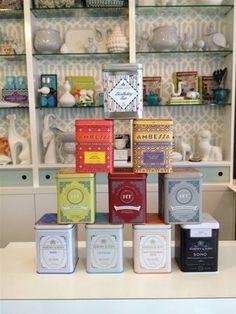 Tea for two - Harey & Sons master tea blenders.