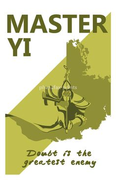 Master Yi League of Legends Print by pharafax on Etsy, $16.00