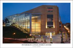Home of the Penguins: Pittsburgh's CONSOL Energy Center.