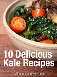10 Delicious Kale Recipes kale recip