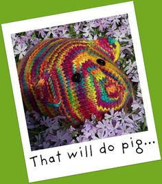 This Little Piggy A Stuffed Toy Knitting Pattern  by PippsPurses, $5.00